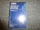 MWM Diesel D302-1 D302-2 D302-3 Engine Owner Operator Maintenance Manual