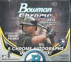 2014 Bowman Chrome Factory Sealed BB Jumbo Box 5 AUTOS Box K Bryant AUTO ??