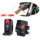 Pairs ABS12V Black+Red Motor Button Switch Ignition Engine Stop Lamp Horn Light