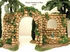 FONTANINI ITALY 5 GARDEN WALL FOUNTAIN NATIVITY VILLAGE ACCESSORY 55501 GCIB