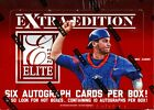 2012 PANINI ELITE EXTRA EDITION BASEBALL HOBBY BOX FACTORY SEALED NEW 6 AUTOS