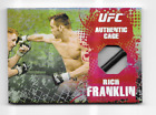 Rich Franklin Cards and Autographed Memorabilia Guide 20