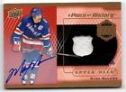 16-17 UPPER DECK A PIECE OF HISTORY 1000 POINT CLUB MARK MESSIER AUTO JERSEY 10