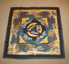 "New with Box, Hermes, Paris, ""Guepards"" (Cheetahs) 90 CM Silk Scarf by R. Dallet"