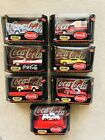 Vintage Lot of 7 Matchbox Coca Cola 143 Scale Die Casts NIB