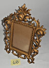 Antique Victorian Style Ornate Cast Iron GOLD Tone 11 1/2