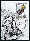 [6749] Belgium 1999 mororcycle sheet very fine MNH. Specimen annulation