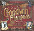 2014 Goodwin Champions Factory Sealed Hobby Box -- 3 Hits per Box !!!