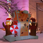 5Ft Inflatable Christmas Gingerbread House Party Outdoor Yard Holiday Decoration