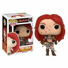 FUNKO POP HEROES RED SONJA BLOODY #158 PX Exclusive Vinyl 3 3 4