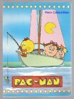 Pac-Man Exercise Book Ruled Pigna 1984 Blue