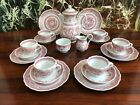 Hutschenreuther Windsor Red - Noble 21 Piece Coffee Service for 6 Persons