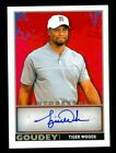 2017 TIGER WOODS AUTO RARE UPPER DECK GOODWIN CHAMPIONS GOUDEY SIGNATURE CDD-TW