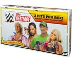 WWE Wrestling 2018 WWE Heritage Trading Card HOBBY Box [24 Packs]