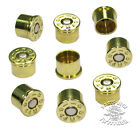 9 BRASS 44 MAG  BULLET BOLT CAPS for HARLEY ENGINES ( KIT OF 9)