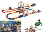 Hot Wheels Track Builder Total Turbo Takeover Track Set Includes 2 kick loops
