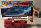 DTE MATCHBOX SUPERKINGS SK 39 SIMON SNORKEL FIRE ENGINE TRUCK NIOB