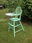 VINTAGE CHILD'S YOUTH/ HIGH CHAIR  HOME HEARTH FEEDING BABY