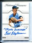 Bert Blyleven 2015 National Treasures NOTABLE NICKNAMES 25 FLYING DUTCHMAN AUTO