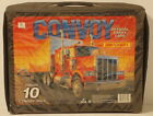DTE 1989 MATCHBOX CONVOY 10 TRUCK RIG TRACTOR TRL EMPTY OFFICIAL CARRY CASE