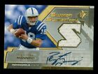 2005 UD SPX Peyton Manning AUTO Jersey Relic Colts Sudden Supremecy HALL OF FAME