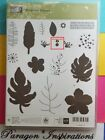 Stampin Up BOTANICAL BLOOMS Photopolymer Stamps Leaves Flowers Stems MISSING ONE