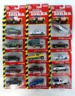 Tonka Die Cast Collection Lot of 15 Die Cast Vehicles