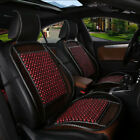 Car Seat Cover Cushion Auto Vehicle Wooden Bead Cool Summer Durable Accessories