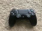Sony Dualshock PS4 Controller Pre-Owned Black Works Great