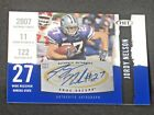 Jordy Nelson 2008 SAGE HIT Autograph Rookie Kansas State Packers Oakland Raiders