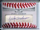 Sparky Anderson 2006 Topps Sterling Cuts BASEBALL SWEET SPOT CUT AUTO Autograph