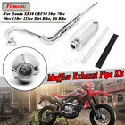 Muffler Exhaust Pipe For HONDA XR50R CRF 50F 70cc 110cc 125cc SDG SSR Pit Bike