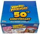 2017 Wacky Packages 50th Anniversary Trading Card HOBBY Box [24 packs]