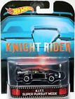 Hot Wheels KITT Super Pursuit Mode Knight Rider Retro Ent BDT94 New Blk 164