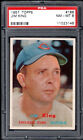 Extremely Rare NM-MT PSA Graded 1957 Topps Baseball Card Set Hits eBay; One of the Highest Graded '57 Sets Ever Assembled 12