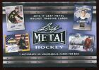 2016 LEAF METAL HOCKEY SEALED HOBBY BOX auto memorabilia 2016 2017 16 17