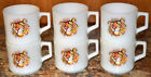 MINTY VINTAGE FIRE KING TIGER IN YOUR TANK ESSO EXXON MILK GLASS ADVERTISING MUG
