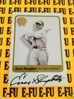 2001 Fleer Greats of the Game ENOS SLAUGHTER Autograph St. Louis Cardinals Auto