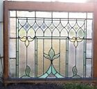 Large Leaded Stained Glass Window