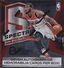 2014-15 PANINI SPECTRA NBA HOBBY SEALED BOX: JOEL EMBIID ROOKIE RC AUTO 7 HITS