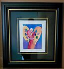 SPECIAL PRICE  BUY This exceptional art Angel with Heart by Peter Max