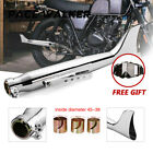 Motorcycle Fish Tail Exhaust Muffler Silencer For Harley Davidson 21