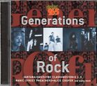 Generations Of Rock (1999 CD) Boston/Clash/Cheap Trick/Quiet Riot/Alice Cooper