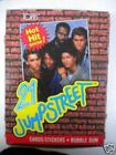 21 Jump Street vintage TV show cards ( With Johnny Depp) full box 1985
