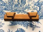 Vintage French Original Traditional Retro Wooden Coat Pegs Hooks (1085)