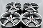 17 rims wheels Vigor CL Tiburon Elantra Cobalt Galant Civic Accord 4x100 4x1143