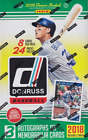 2018 PANINI DONRUSS HOBBY BASEBALL - 3 BOX LOT