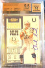 ANDREW LUCK 2012 PANINI CONTENDERS SP AUTOGRAPH AUTO RC ROOKIE BGS 9.5 10 COLTS