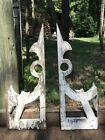 FABULOUS PAIR VINTAGE STYLE SHABBY FARMHOUSE COTTAGE CHIC CORBELS