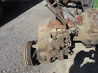 JEEP WILLYS CJ T90 3 SPEED TRANSMISSION W SPLICER 18 TRANSFER CASE BELLHOUSING
